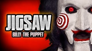 JIGSAW HALLOWEEN MAKEUP TUTORIAL --  Billy The Puppet