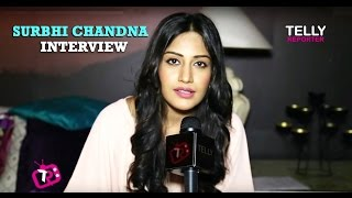 Surbhi Chandna aka Anika Of Ishqbaaz Interview | Fans Love & TV Journey So Far! | Telly Reporter