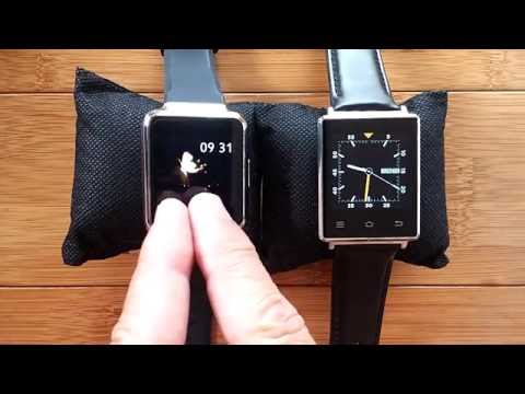 No.1 D6 and FINOW Q1 Android 5.1 Smartwatches Compared!