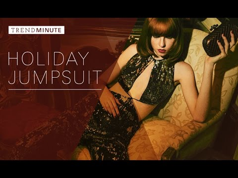 Trend Minute: Holiday Jumpsuit