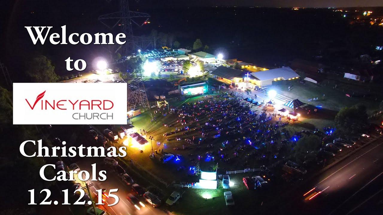 Vineyard Church Christmas Carols 2015 - YouTube