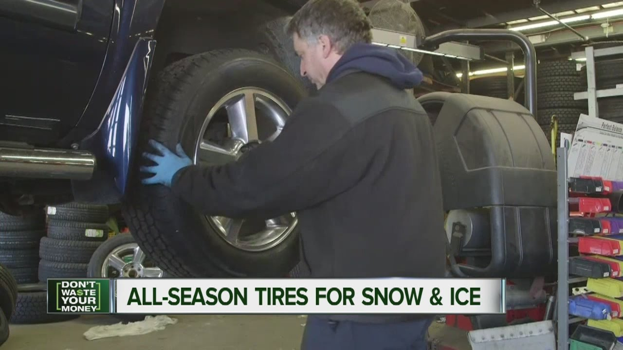 Best All Season Tires For Ice And Snow Youtube