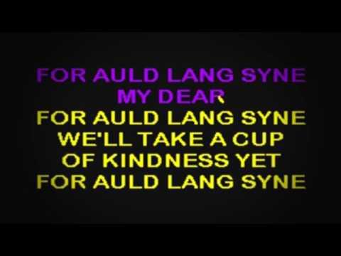 SC2032 03   Standard   Auld Lang Syne [karaoke]