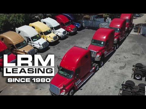 LRM Leasing - 100% No Credit Check Semi-Truck Leasing