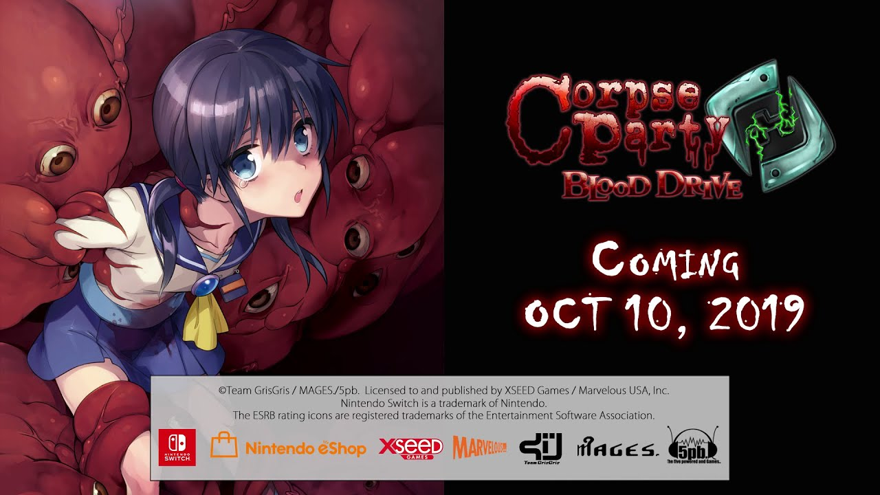 Corpse Party Blood Drive For Switch And Pc Launches October 10