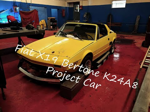 1976 Fiat X19 K24A8 Swap Project! Ep 1.