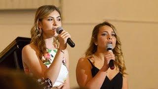 "Serena Bardi and Nathalie Groet perform ""Landslide"" (TASIS Senior Banquet 2018)"