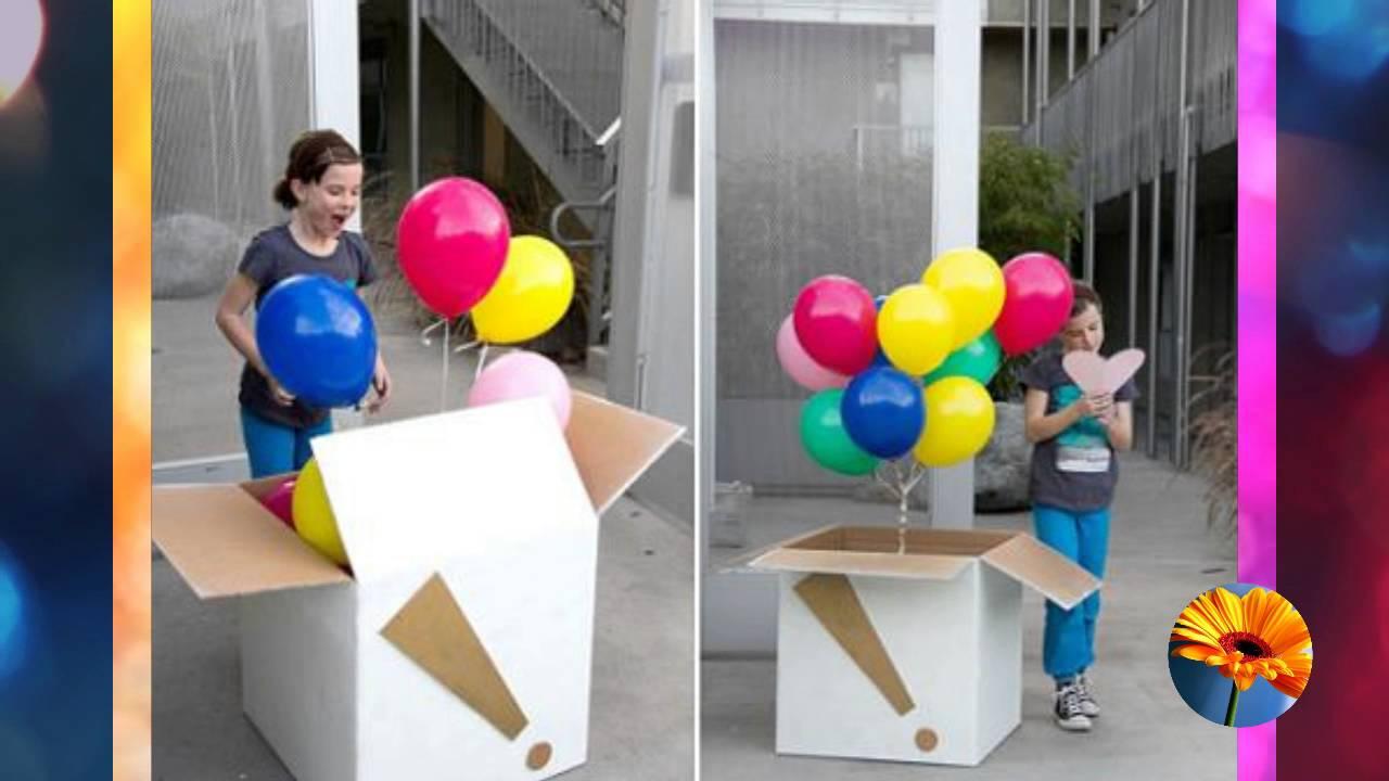 20 formas de sorprender con globos en un cumpleanos - Ideas para sorprender en un cumpleanos ...