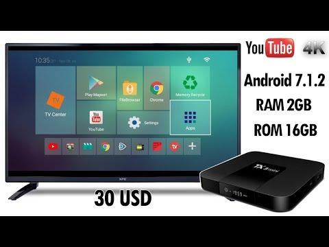 Tanix TX3 Mini, Review Android TV Box de 30 USD, YouTube en 4K, Convierte tu TV en SmartTV
