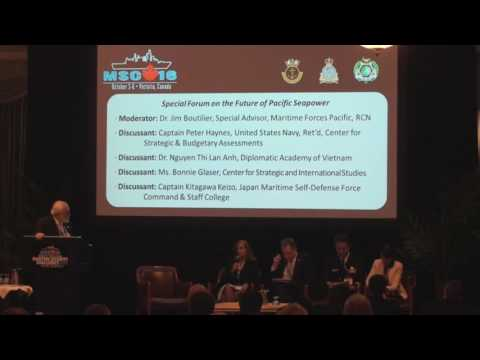 MSC16 Special Forum on the Future of Pacific Seapower - PART 1 of 2