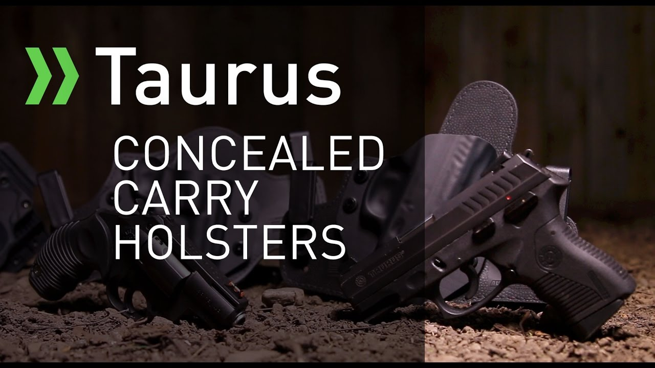 Taurus Concealed Carry Holsters by Alien Gear Holsters
