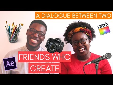 A DIALOGUE BETWEEN TWO FRIENDS WHO CREATE : Studying a science degree ft. ManLikeMike