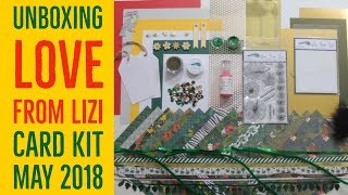 UNBOXING Love From Lizi Card Kit  May 2018