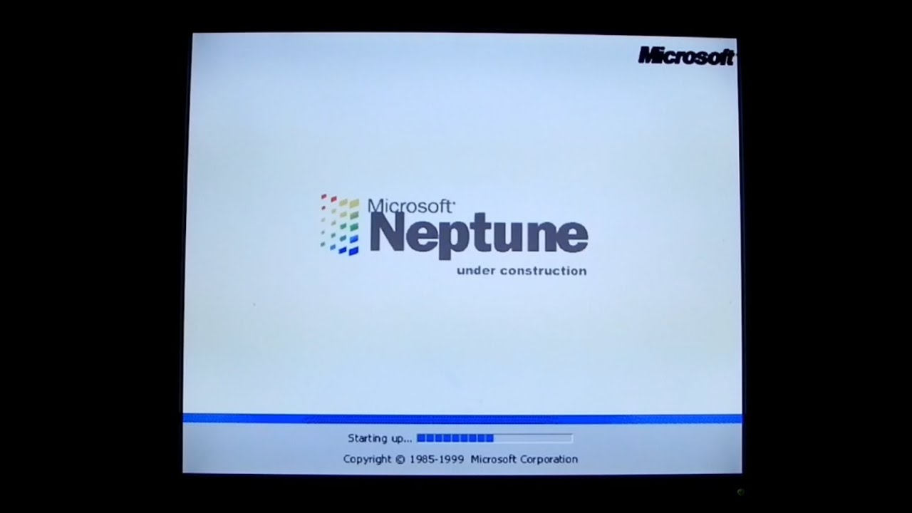 Installing Windows Neptune On A 2 7ghz Pc The Xp That