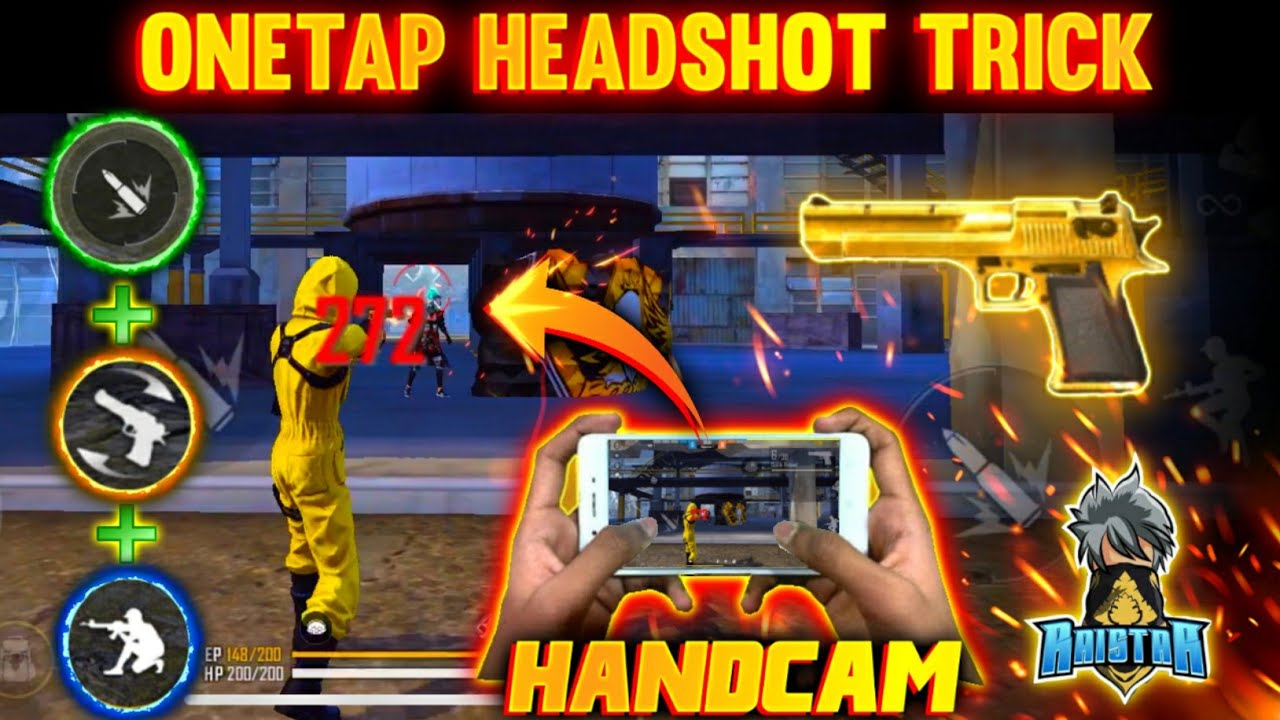 Download NEW ONE TAP HEADSHOT TRICK | BEST ONE TAP HEADSHOT TRICK 2021 | SECRET TRICKS