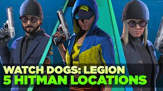 5 HITMAN LOCATIONS In Watch Dogs Legion YOU NEED To Know About! [To Be John Wick]