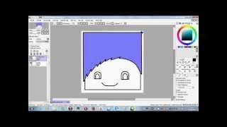 Видеоурок как рисовать арт в программе Paint Tool SAI