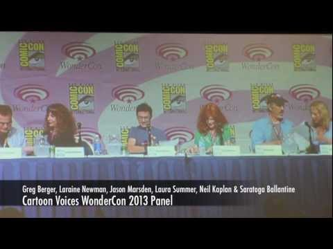 Cartoon Voices WonderCon 2013 Panel With Gregg Berger, Neil Kaplan, Jason Marsden & More!