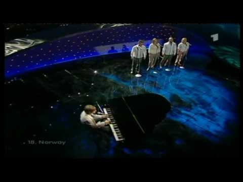 Eurovision 2003 18 Norway *Jostein Hasselgård* *I'm Not Afraid To Move On* 16:9 HQ