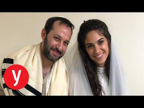 בגלל האזעקה: דניאל ונאור התחתנו במקלט הרבנות