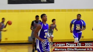 Warriors Elite (LA) vs. Gators Elite (TX) - Extravaganza HoopFest 16U Pool Play
