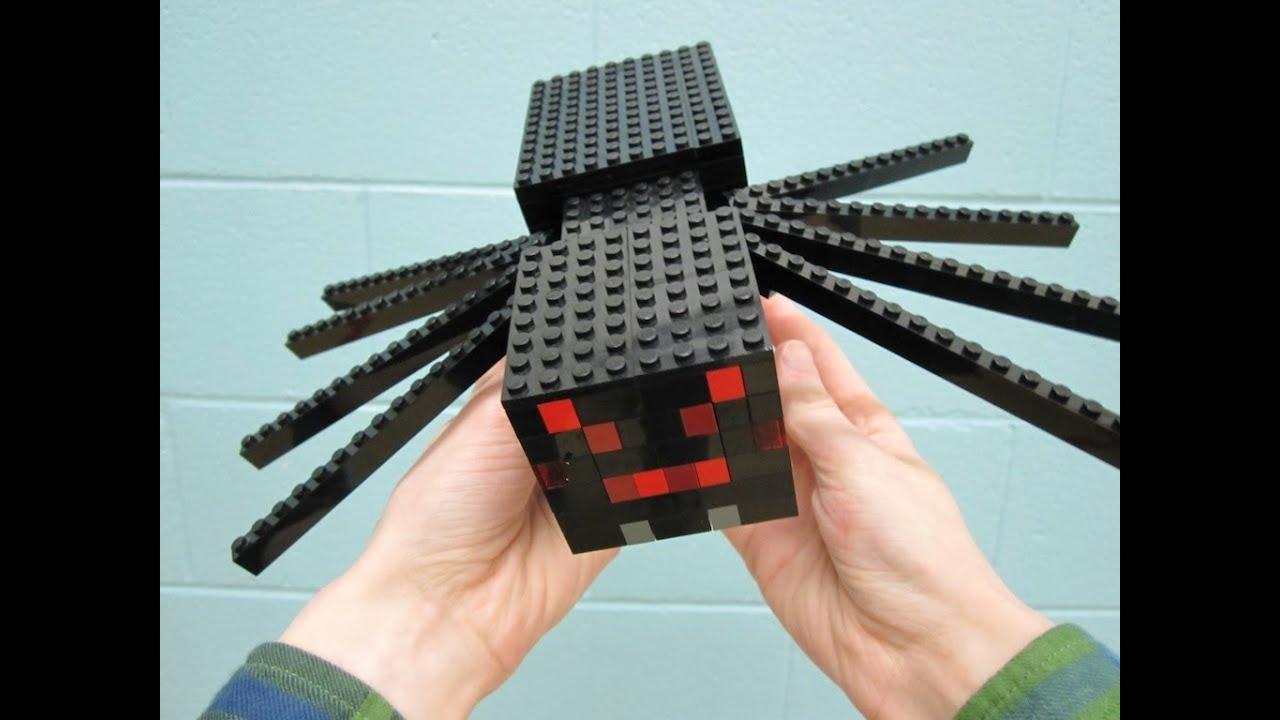 lego spider minecraft youtube
