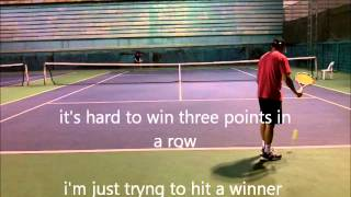 Live Ball drills:  King of the Court For Singles