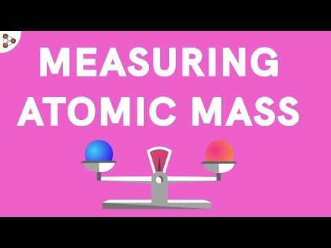 Measuring Atomic Mass - CBSE 9