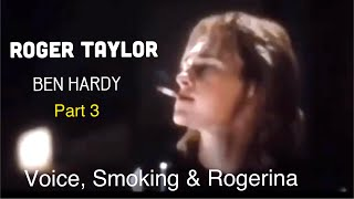 BEN HARDY As Roger Taylor in Bohemian Rhapsody movie scenes p3