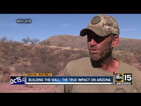 VIDEO: Illegal immigrants crossing border into AZ