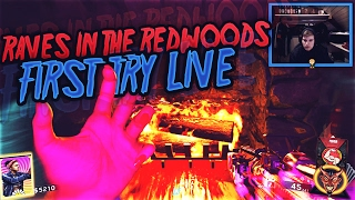 "First Try ""Rave In The Redwoods"" (COD IW Zombies DLC 1) 