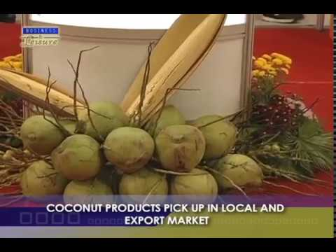 COCONUT PRODUCTS PICK UP IN LOCAL AND EXPORT MARKET   BIZWATCH