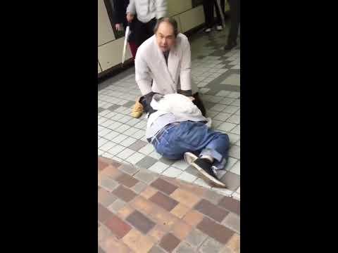 【泥棒ゲット】ツイッターで拡散されている喧嘩動画