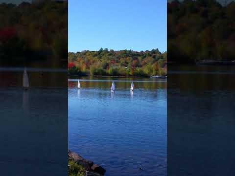 RC boat racing Wolfeboro New Hampshire 10-12-17