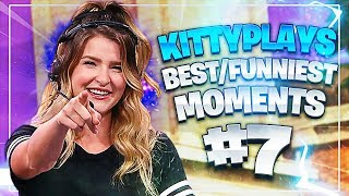 CRAZY DEAGLE & SNIPER PLAYS! KittyPlays Best/Funniest Moments! #7 (Fortnite: Battle Royale)