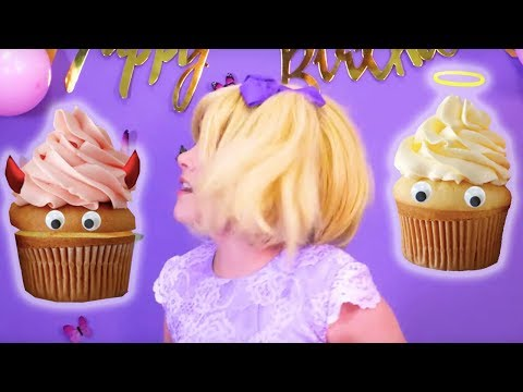 Princess Tea Party Disaster 🍰 Esme Eats Everything & The Princess Tea Party Is Ruined! | Kiddyzuzaa