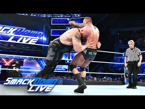 HINDI - Big Show vs. Randy Orton - WWE World Cup Qualifying Match: SmackDown LIVE, 9 October, 2018