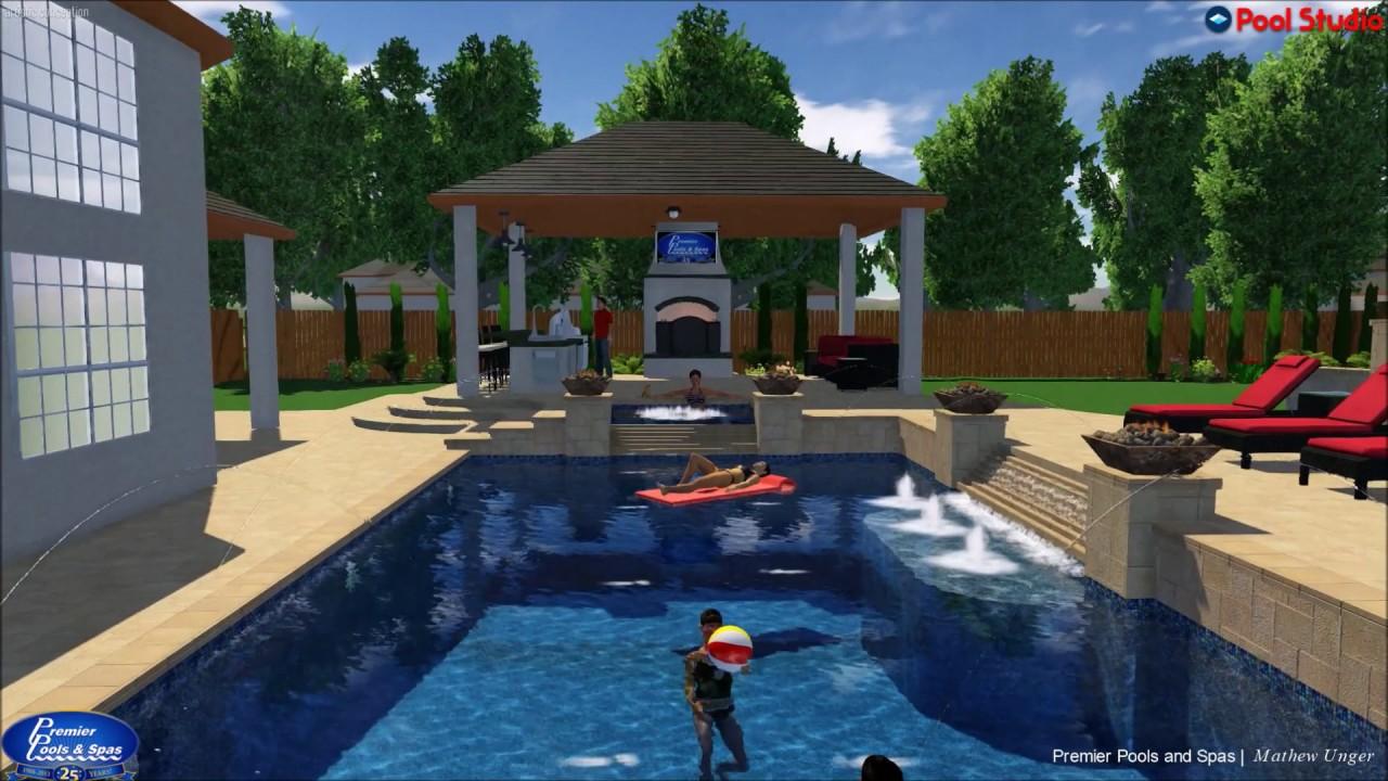 Premier Pools Spas Houston Designer Mathew Unger