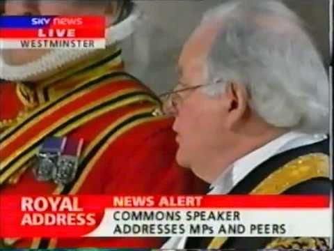 The Speaker's Tribute to The Queen - Golden Jubilee