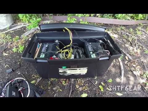 DIY Solar Generator in a Tool Box Updated – A Closer Look