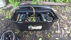 DIY Solar Generator in a Tool Box Updated - A Closer Look
