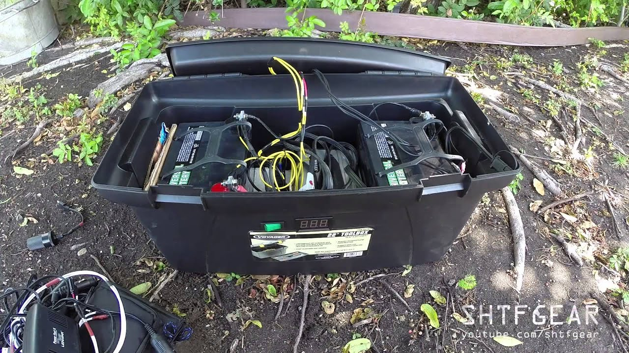 Diy Solar Generator In A Tool Box Updated A Closer Look