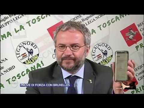 Claudio Borghi Aquilini Costretto a Smentire Piller e Bonafè Omnibus 12/07/2017