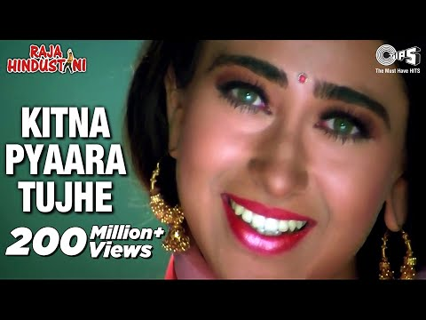 Kitna Pyara Tujhe Rab Ne Banaya - Video Song | Raja Hindustani | Aamir Khan & Karisma Kapoor