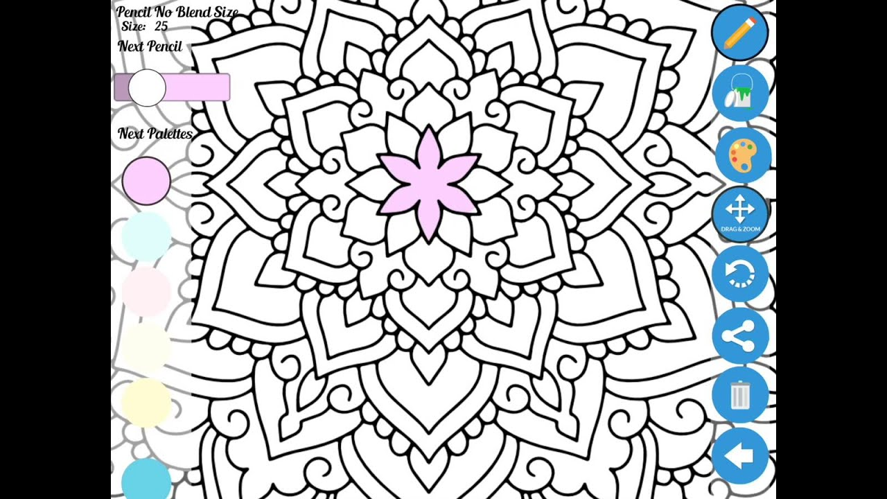 zen coloring book app for adults best coloring apps for adults - Best Coloring Book App