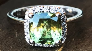 Rare 2.62ct Alexandrite Ring - Paul Reinhard