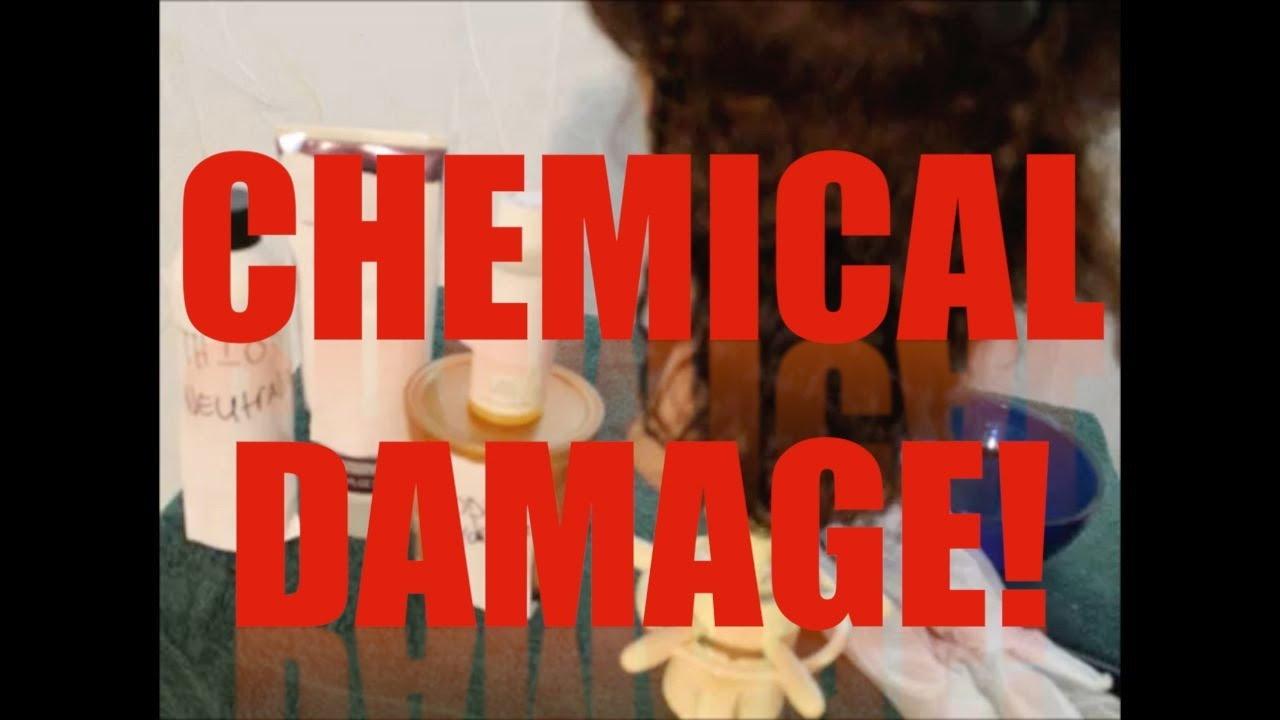 Sodium Hydroxide Thioglycolate Damage Youtube