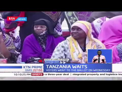 Tundu Lissu decries irregularities as Tanzania awaits election results
