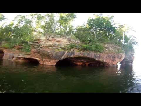 GoPro HD: Boating and Camping in the Apostle Islands.