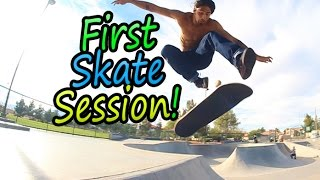First Skate Session After Prison